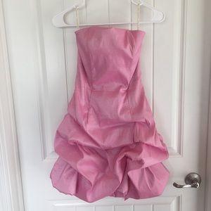 Jessica McClintock Pink Cocktail Dress 4